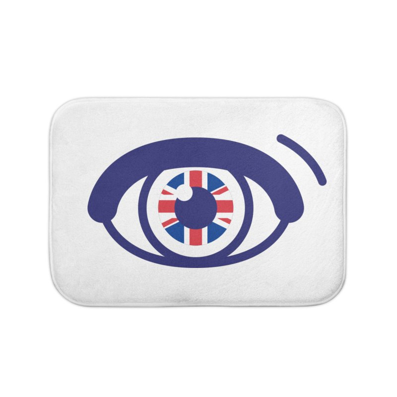 For British Eyes Only Home Bath Mat by TravisPixels's Artist Shop