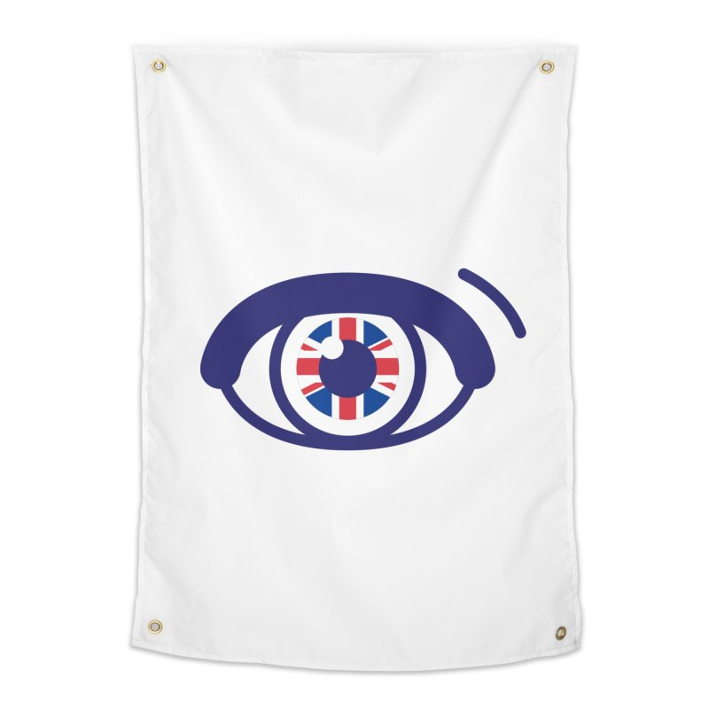 For British Eyes Only Home Tapestry by TravisPixels's Artist Shop
