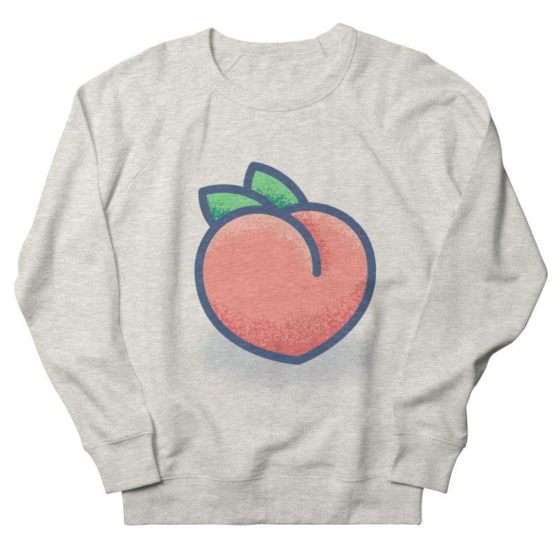 Pêche Women's French Terry Sweatshirt by TravisPixels's Artist Shop