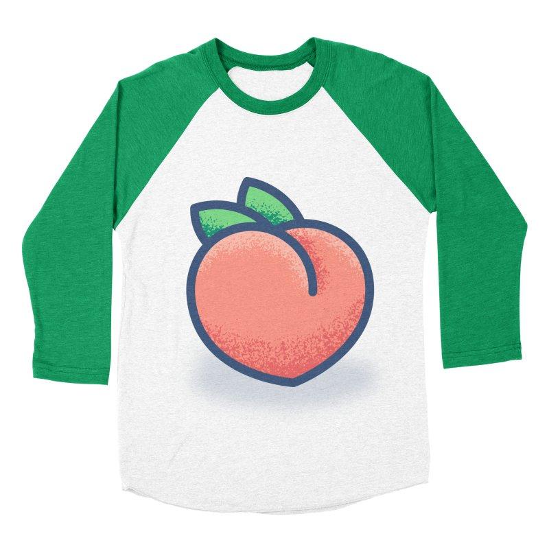 Pêche Women's Baseball Triblend Longsleeve T-Shirt by TravisPixels's Artist Shop