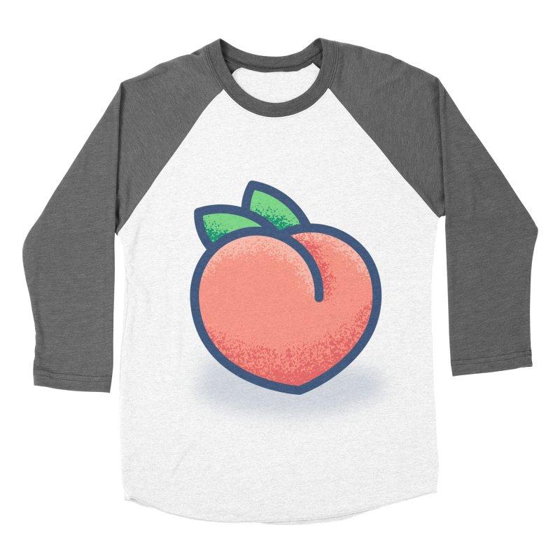 Pêche Men's Baseball Triblend Longsleeve T-Shirt by TravisPixels's Artist Shop