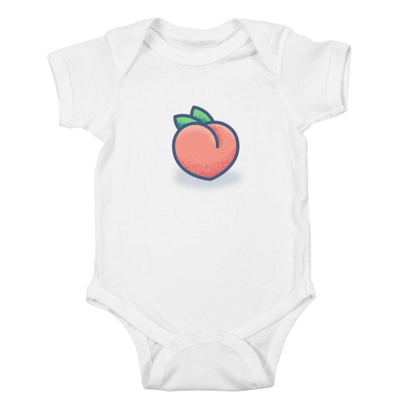 Pêche Kids Baby Bodysuit by TravisPixels's Artist Shop