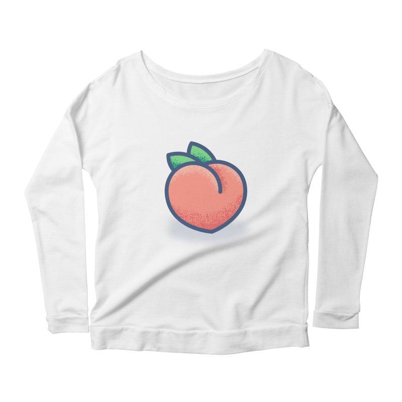 Pêche Women's Scoop Neck Longsleeve T-Shirt by TravisPixels's Artist Shop