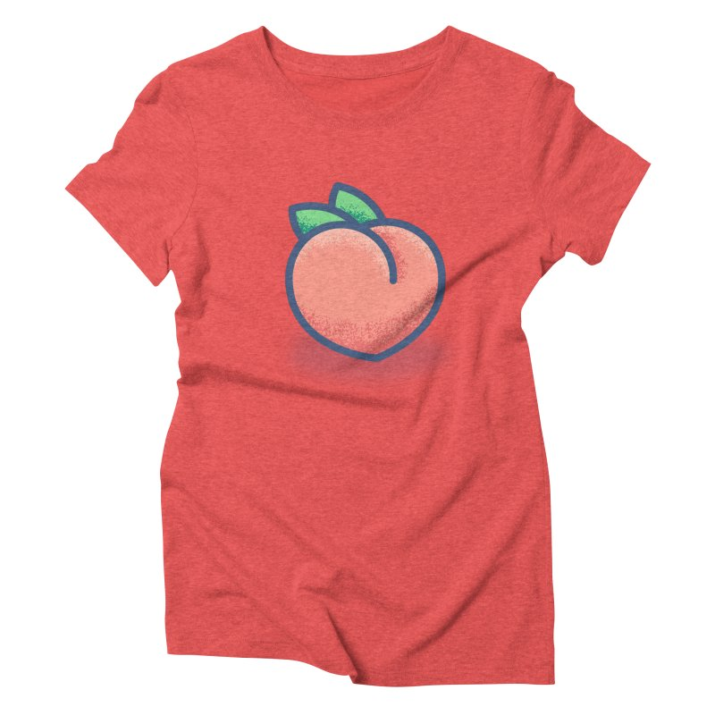 Pêche Women's Triblend T-Shirt by TravisPixels's Artist Shop