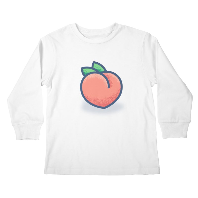 Pêche Kids Longsleeve T-Shirt by TravisPixels's Artist Shop