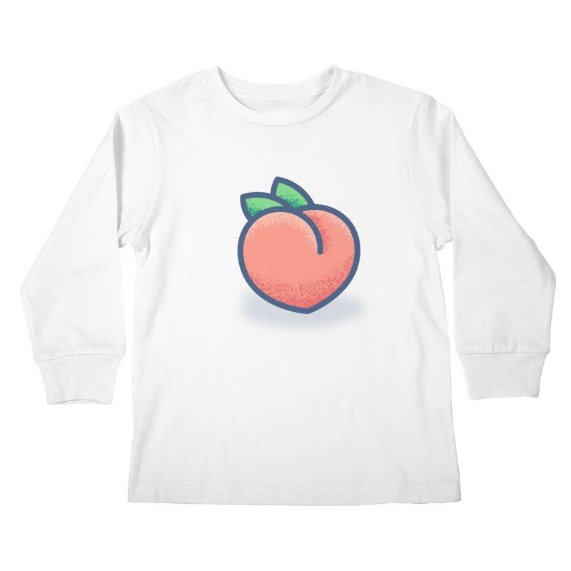 Pêche Kids Longsleeve T-Shirt by TravisPixels's Artist Shop