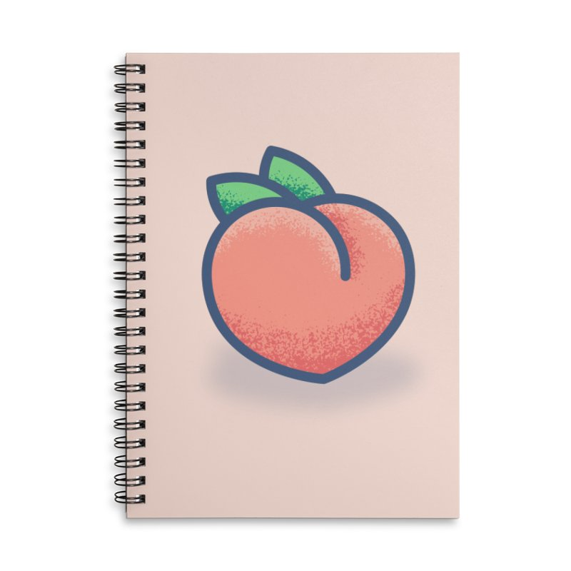 Pêche Accessories Lined Spiral Notebook by TravisPixels's Artist Shop