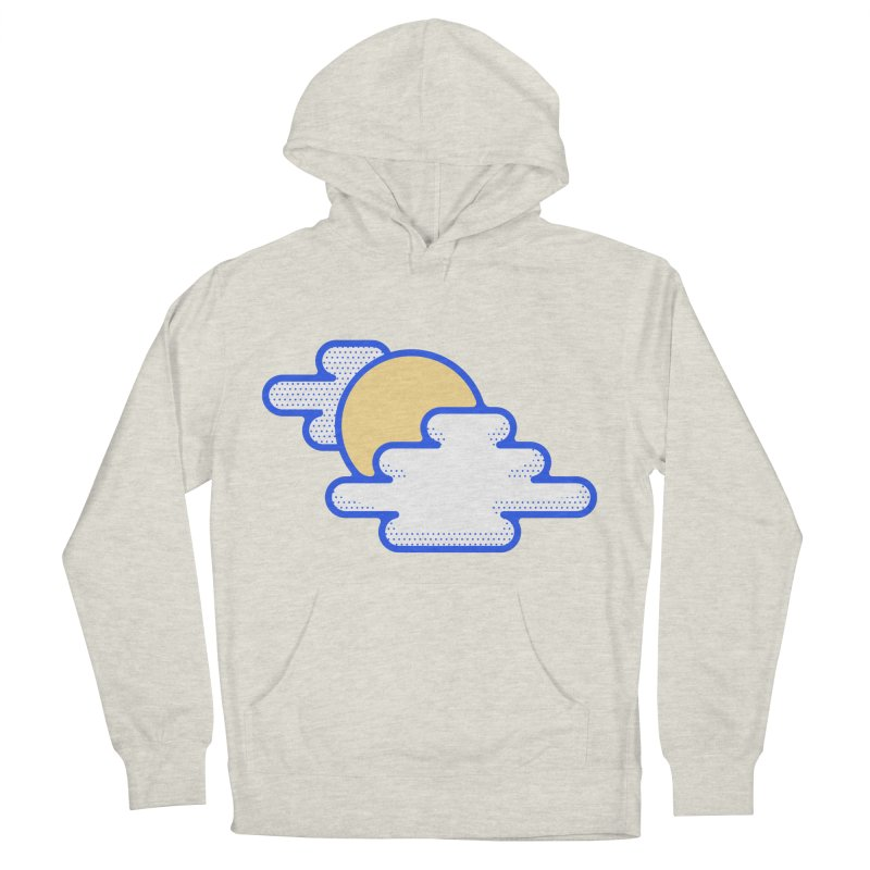 Cloudy Day Men's French Terry Pullover Hoody by TravisPixels's Artist Shop