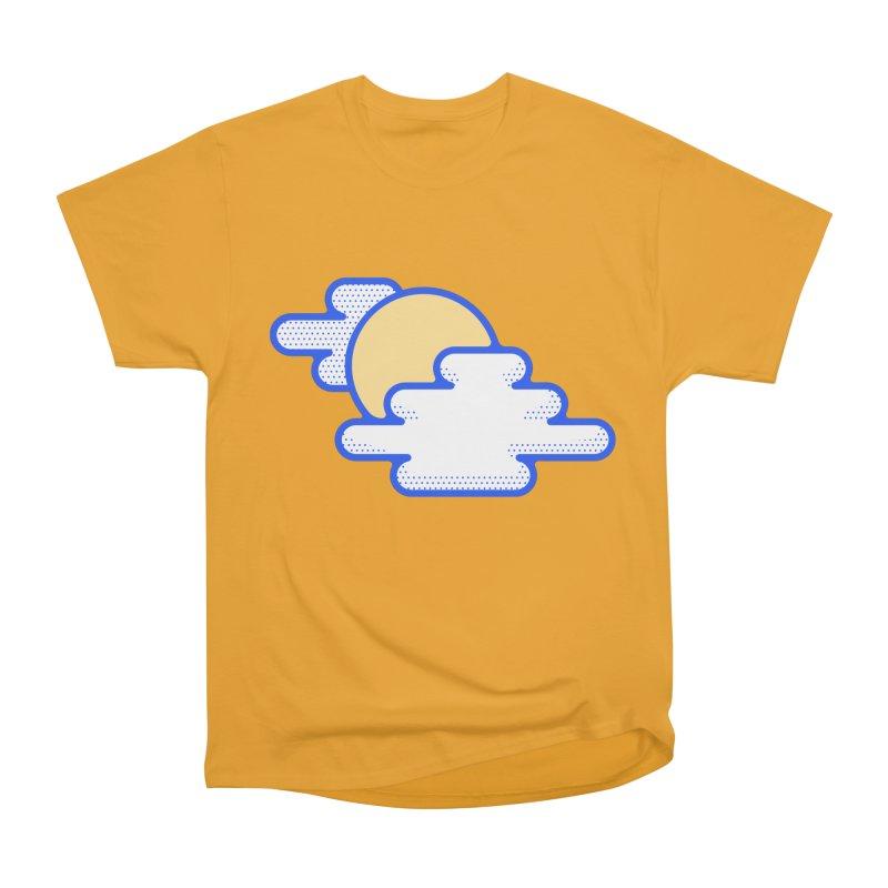 Cloudy Day Women's Heavyweight Unisex T-Shirt by TravisPixels's Artist Shop