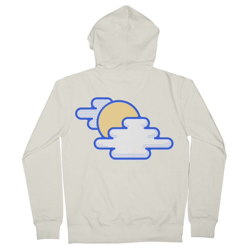 Cloudy Day Women's French Terry Zip-Up Hoody by TravisPixels's Artist Shop