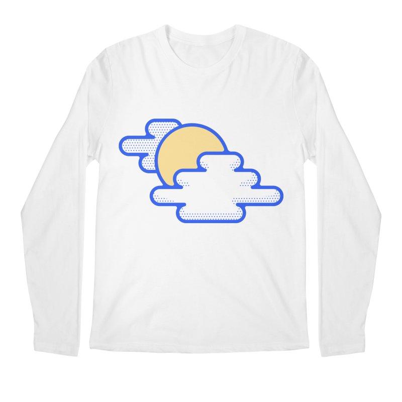 Cloudy Day Men's Regular Longsleeve T-Shirt by TravisPixels's Artist Shop