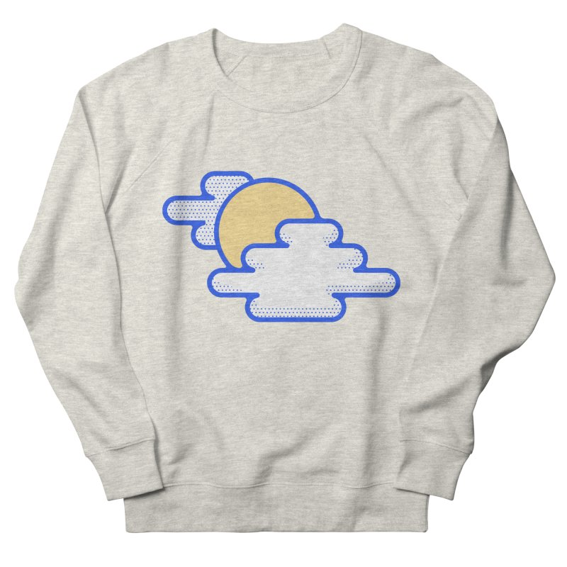Cloudy Day Men's French Terry Sweatshirt by TravisPixels's Artist Shop