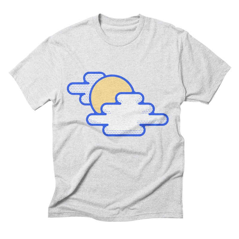 Cloudy Day Men's Triblend T-Shirt by TravisPixels's Artist Shop
