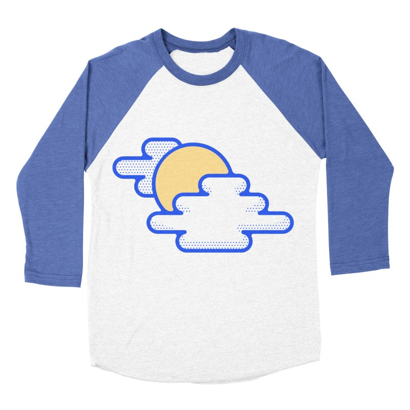 Cloudy Day Women's Baseball Triblend Longsleeve T-Shirt by TravisPixels's Artist Shop