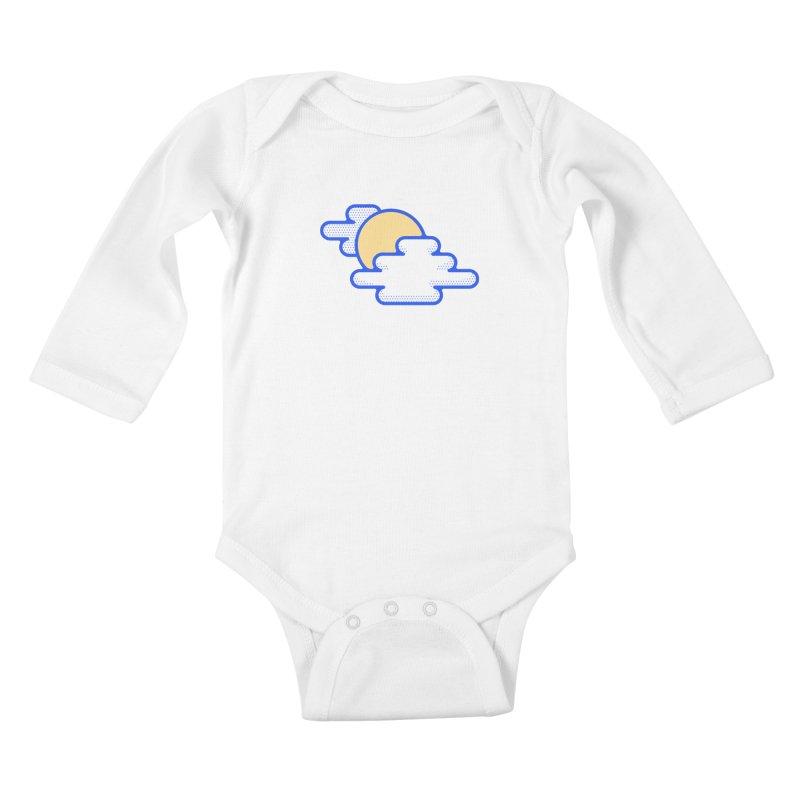 Cloudy Day Kids Baby Longsleeve Bodysuit by TravisPixels's Artist Shop