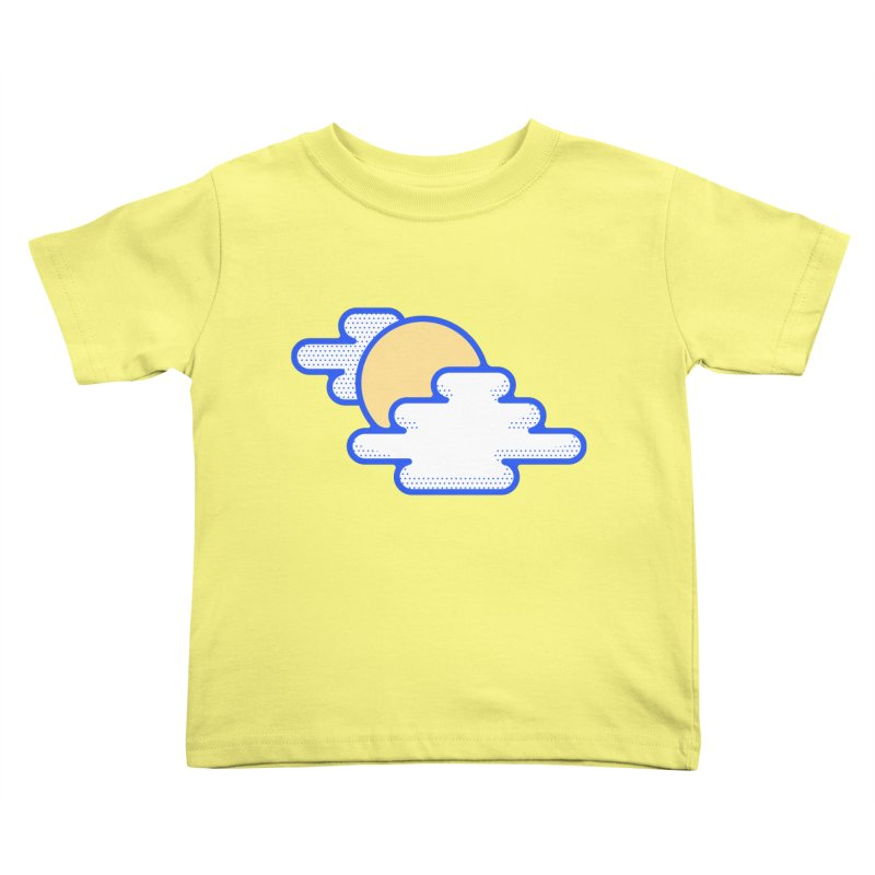 Cloudy Day Kids Toddler T-Shirt by TravisPixels's Artist Shop