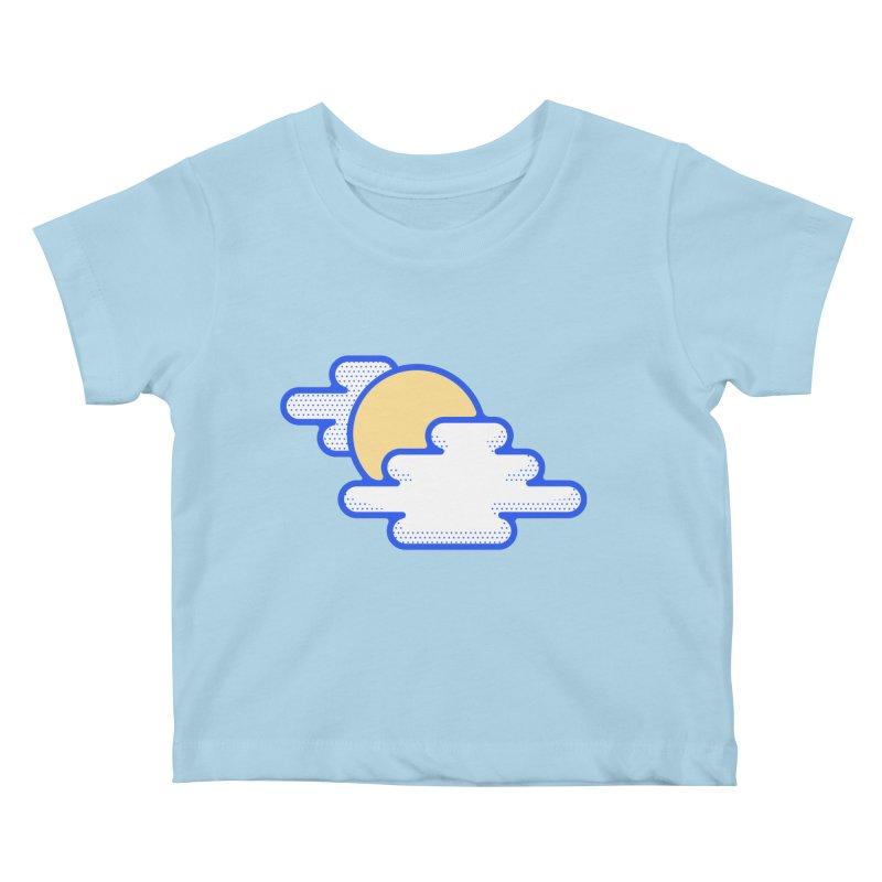 Cloudy Day Kids Baby T-Shirt by TravisPixels's Artist Shop