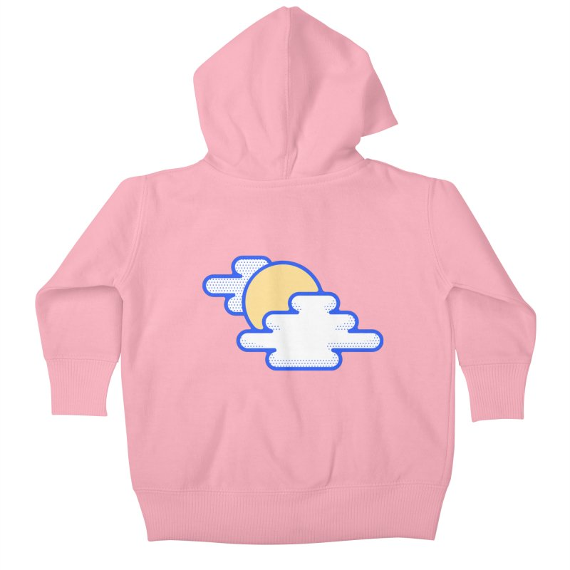 Cloudy Day Kids Baby Zip-Up Hoody by TravisPixels's Artist Shop