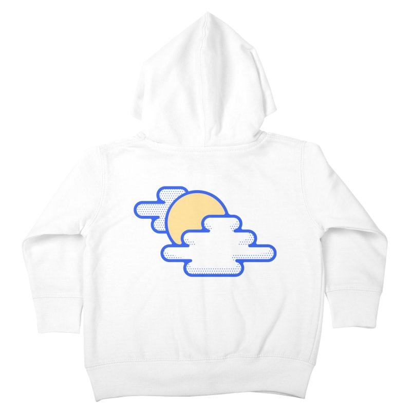 Cloudy Day Kids Toddler Zip-Up Hoody by TravisPixels's Artist Shop