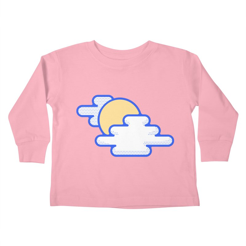 Cloudy Day Kids Toddler Longsleeve T-Shirt by TravisPixels's Artist Shop