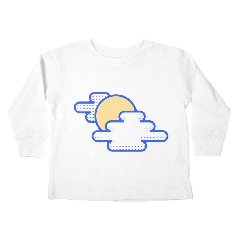 Cloudy Day Kids Toddler Longsleeve T-Shirt by TravisPixels's Artist Shop