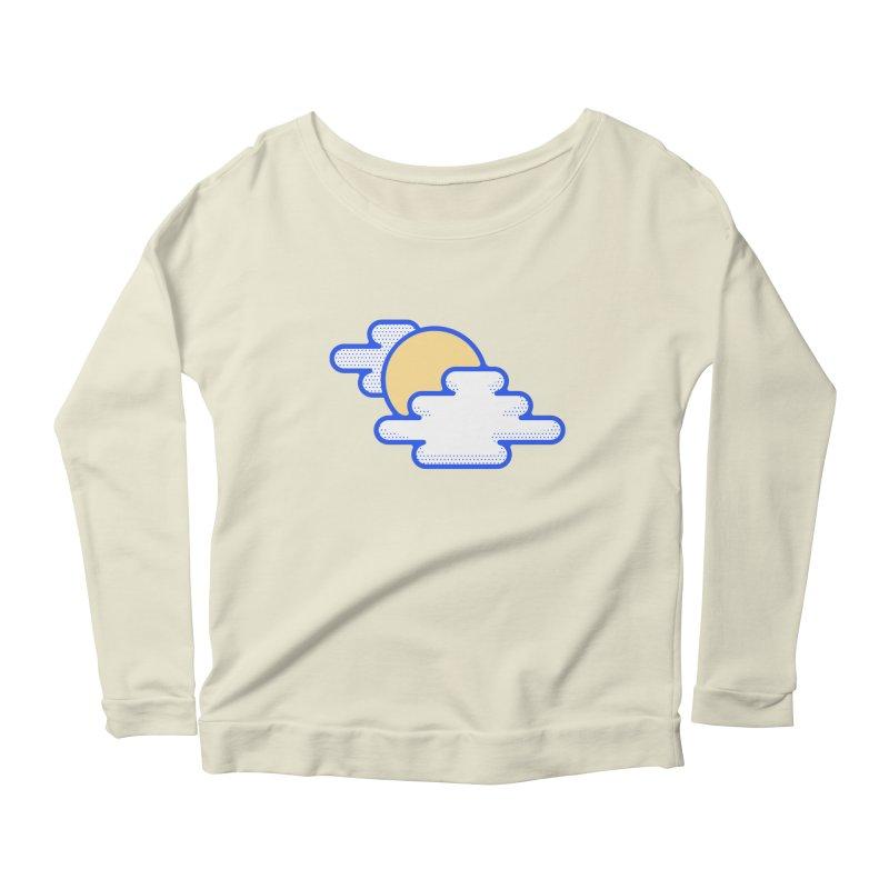 Cloudy Day Women's Scoop Neck Longsleeve T-Shirt by TravisPixels's Artist Shop