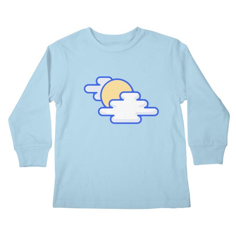 Cloudy Day Kids Longsleeve T-Shirt by TravisPixels's Artist Shop