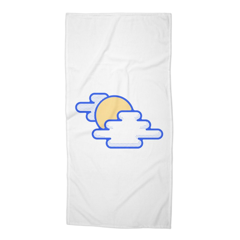 Cloudy Day Accessories Beach Towel by TravisPixels's Artist Shop