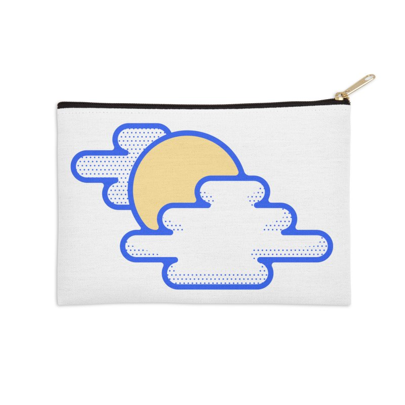 Cloudy Day Accessories Zip Pouch by TravisPixels's Artist Shop