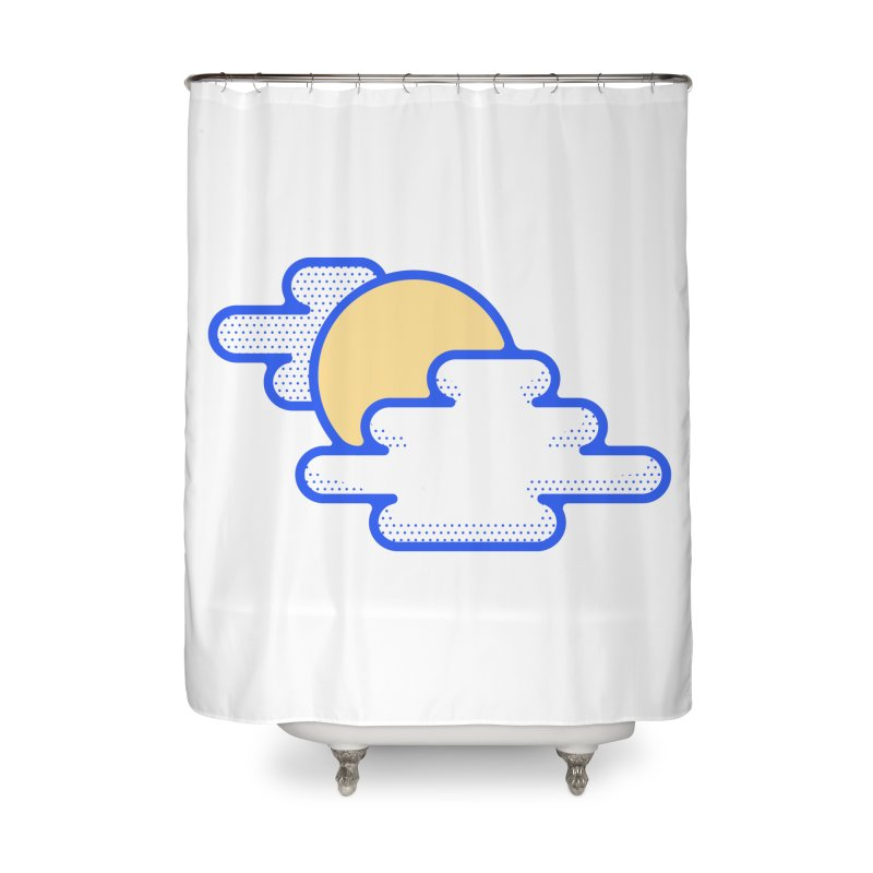 Cloudy Day Home Shower Curtain by TravisPixels's Artist Shop