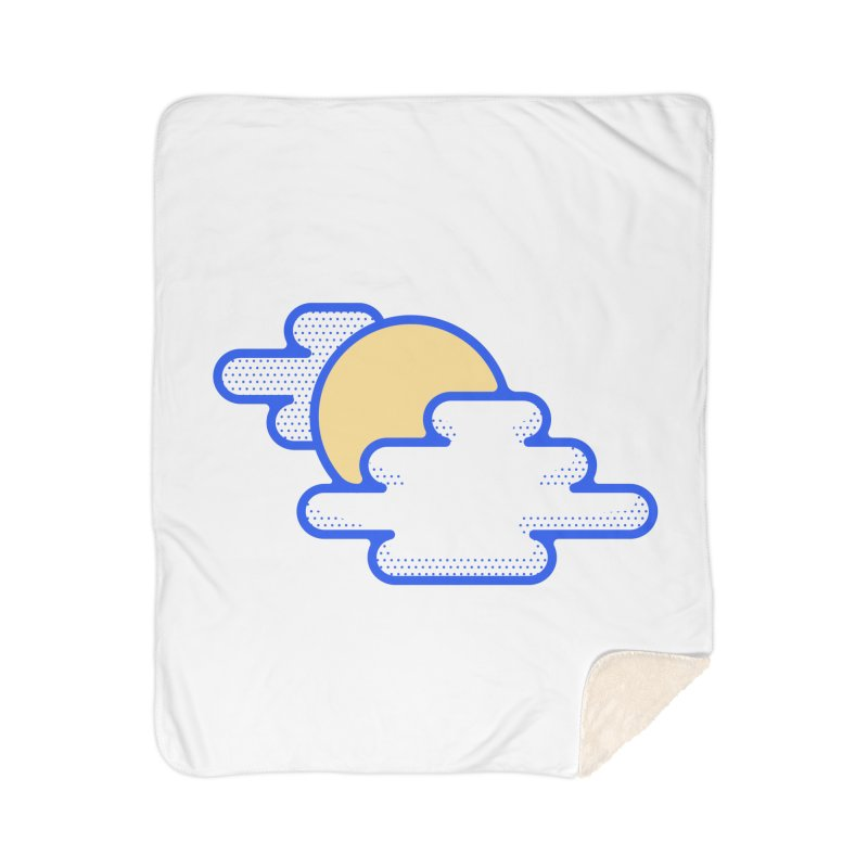 Cloudy Day Home Sherpa Blanket Blanket by TravisPixels's Artist Shop