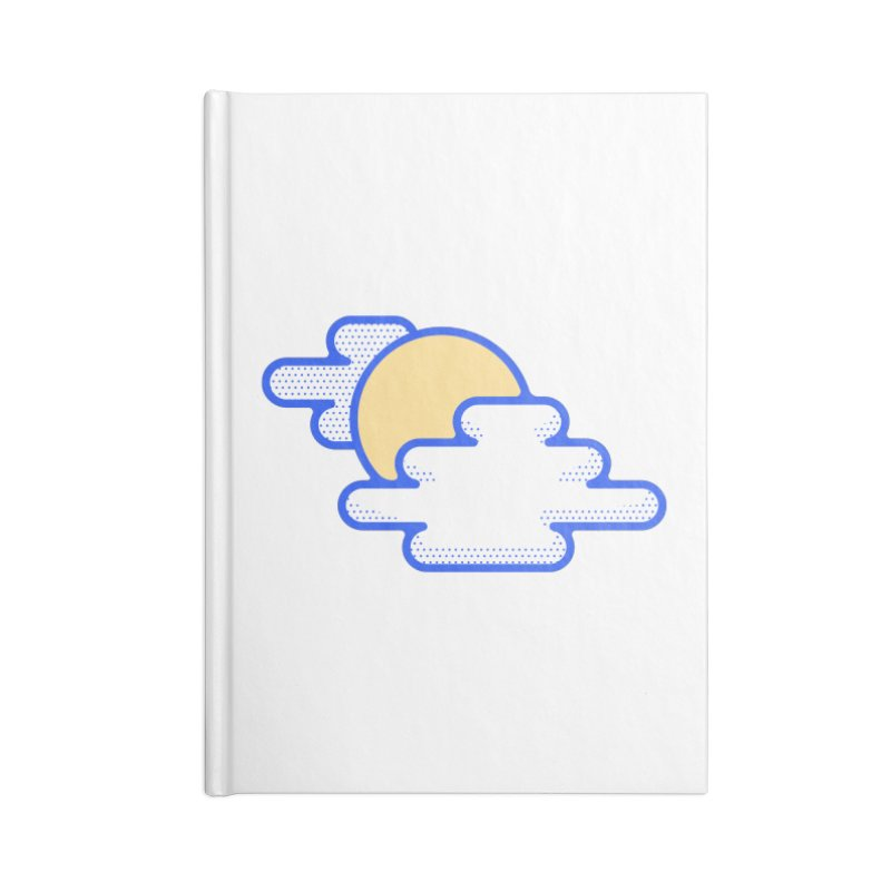 Cloudy Day Accessories Lined Journal Notebook by TravisPixels's Artist Shop