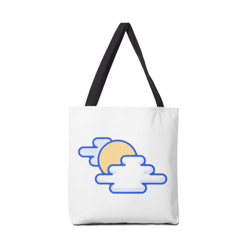 Cloudy Day Accessories Tote Bag Bag by TravisPixels's Artist Shop