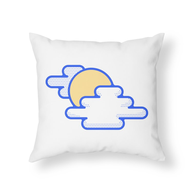 Cloudy Day Home Throw Pillow by TravisPixels's Artist Shop