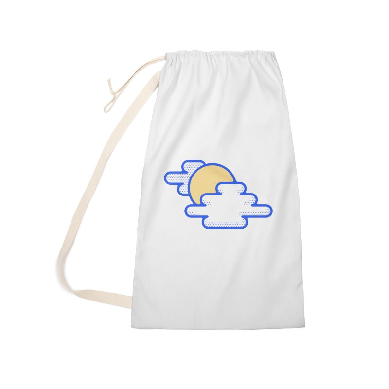Cloudy Day Accessories Laundry Bag Bag by TravisPixels's Artist Shop