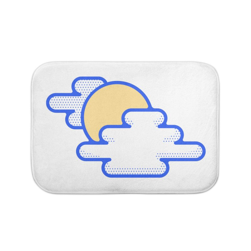 Cloudy Day Home Bath Mat by TravisPixels's Artist Shop