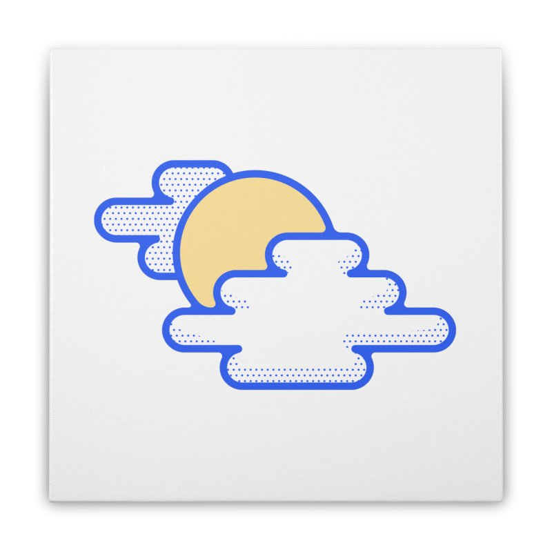 Cloudy Day Home Stretched Canvas by TravisPixels's Artist Shop