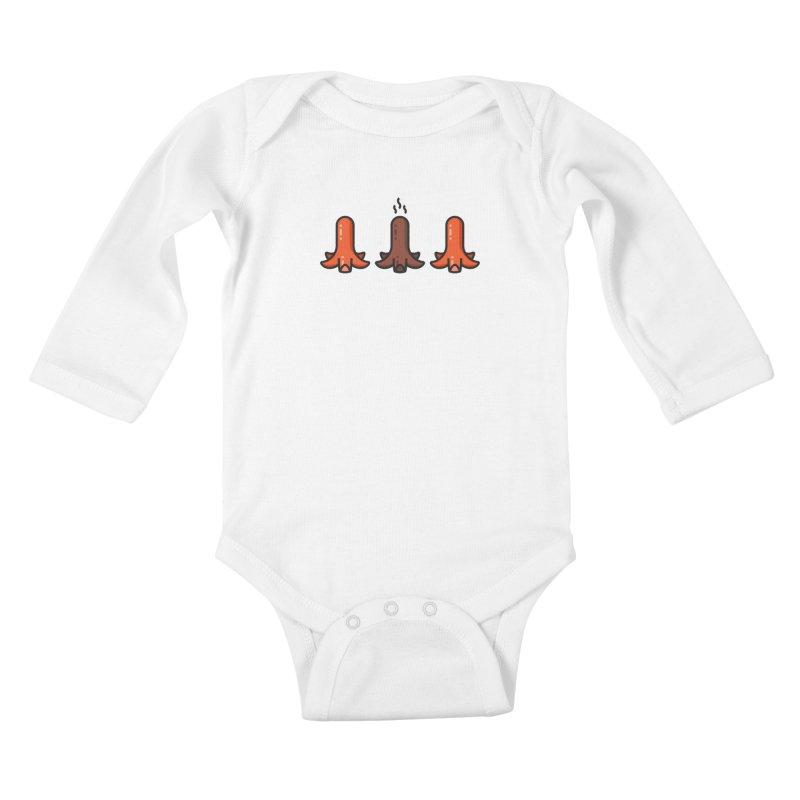 Crispy Kids Baby Longsleeve Bodysuit by TravisPixels's Artist Shop