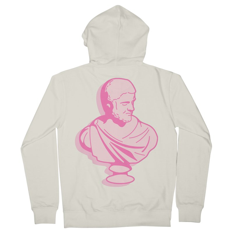 Bust Men's French Terry Zip-Up Hoody by TravisPixels's Artist Shop