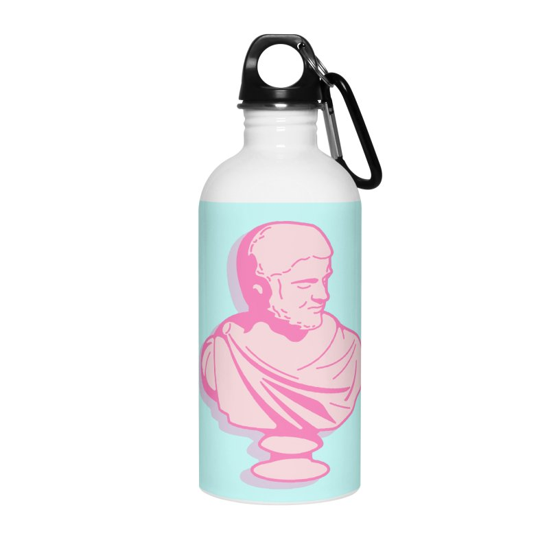 Bust Accessories Water Bottle by TravisPixels's Artist Shop
