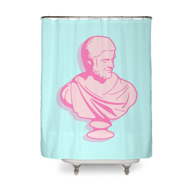 Bust Home Shower Curtain by TravisPixels's Artist Shop