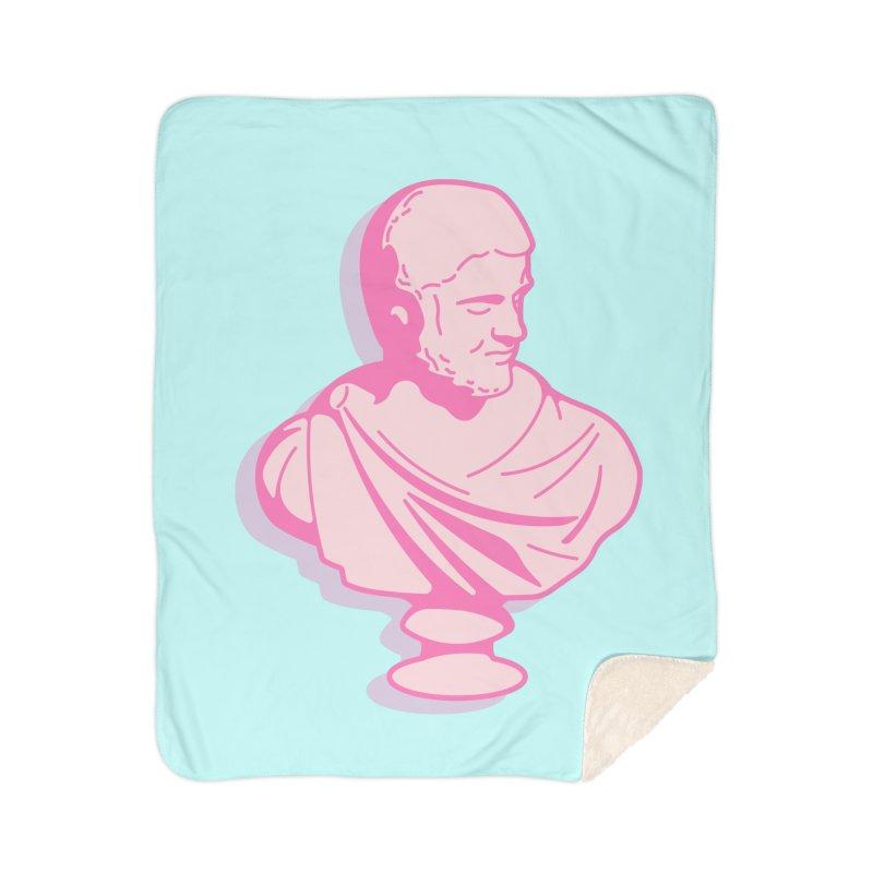 Bust Home Sherpa Blanket Blanket by TravisPixels's Artist Shop