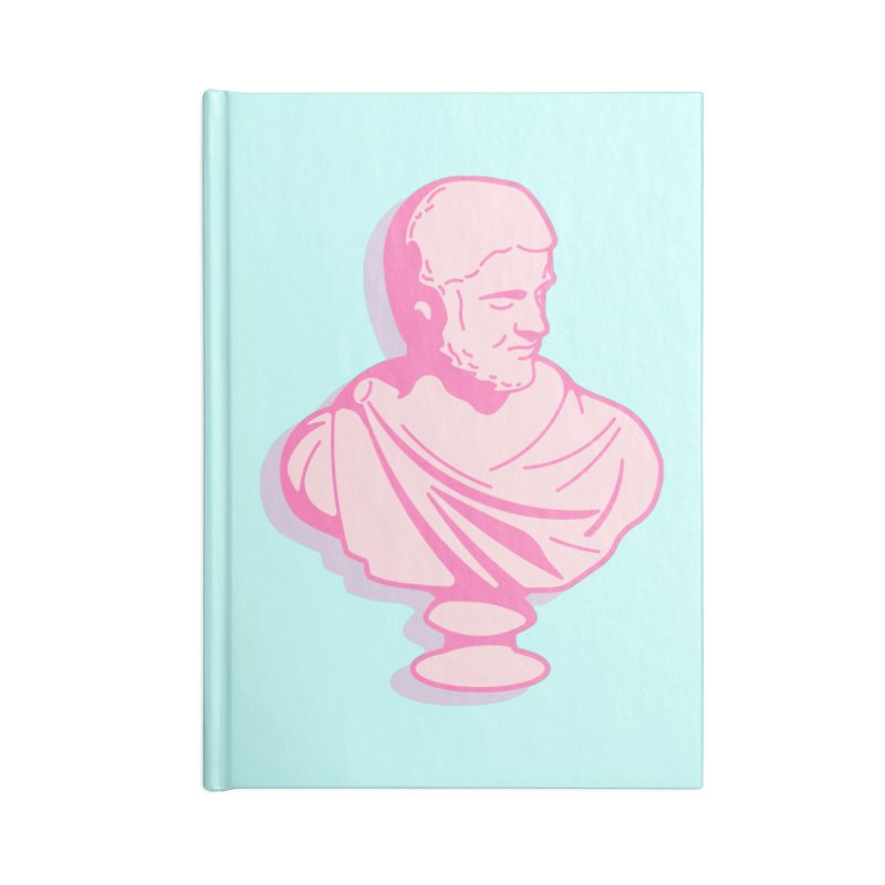 Bust Accessories Lined Journal Notebook by TravisPixels's Artist Shop