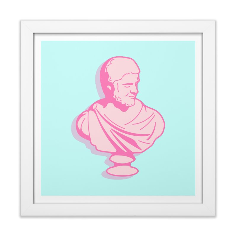 Bust Home Framed Fine Art Print by TravisPixels's Artist Shop