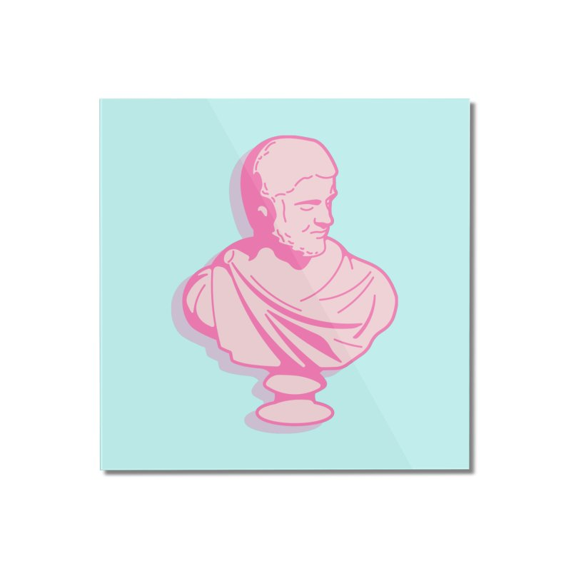Bust Home Mounted Acrylic Print by TravisPixels's Artist Shop