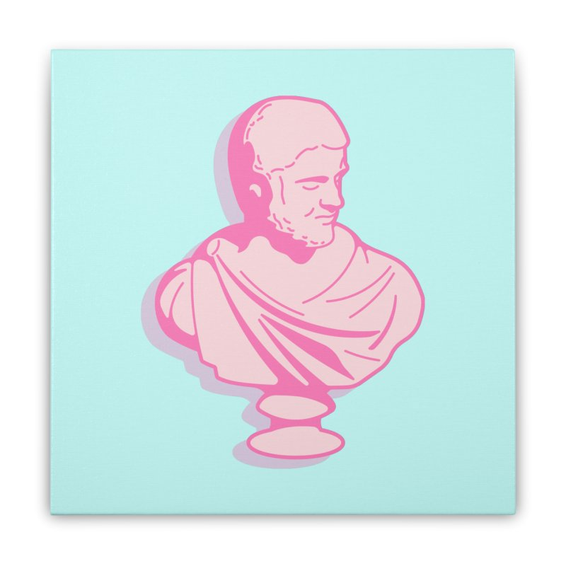 Bust Home Stretched Canvas by TravisPixels's Artist Shop