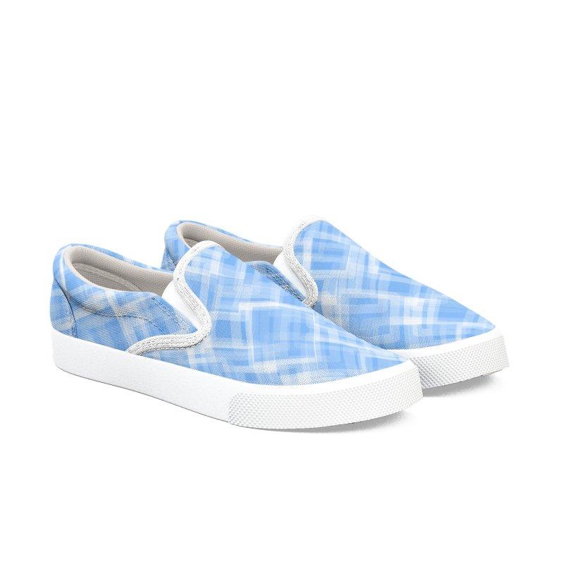Lokva (Blue) in Men's Slip-On Shoes by trebam