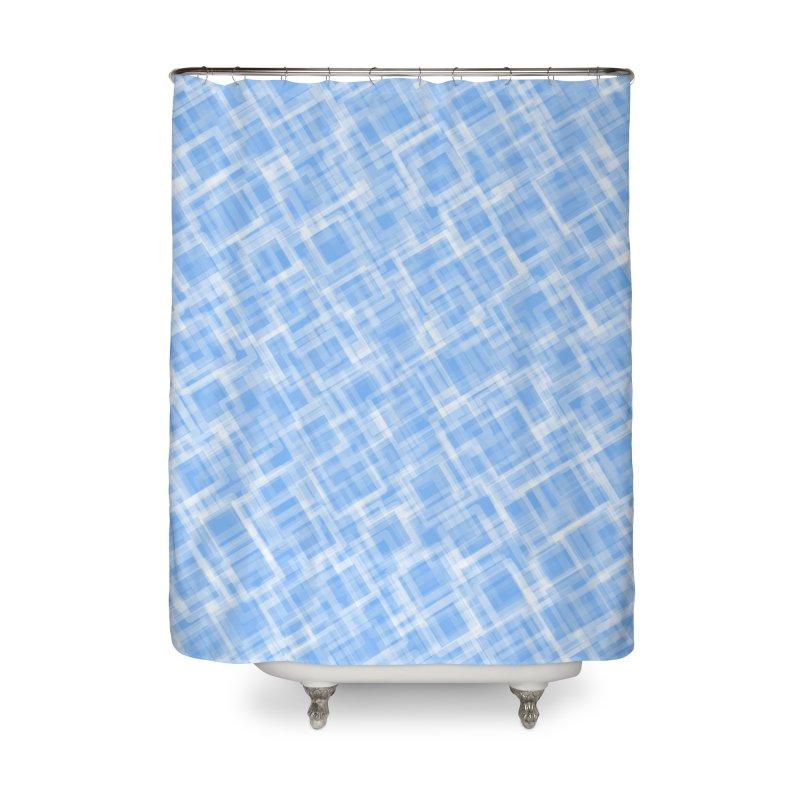 Lokva (Blue) Home Shower Curtain by trebam