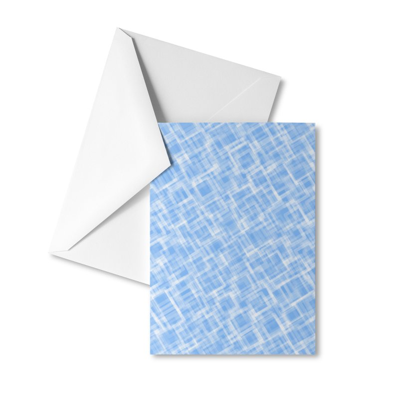 Lokva (Blue) Accessories Greeting Card by trebam