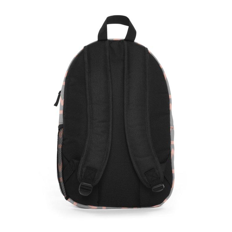 Trokutan (Coral) Accessories Bag by trebam